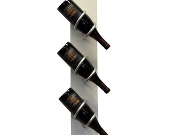 Wall mounted Wine Rack | Wood wine rack | Wedding gift | Bridesmaid gift | Wine bottle holder | wall wine rack | kitchen decor| wedding gift