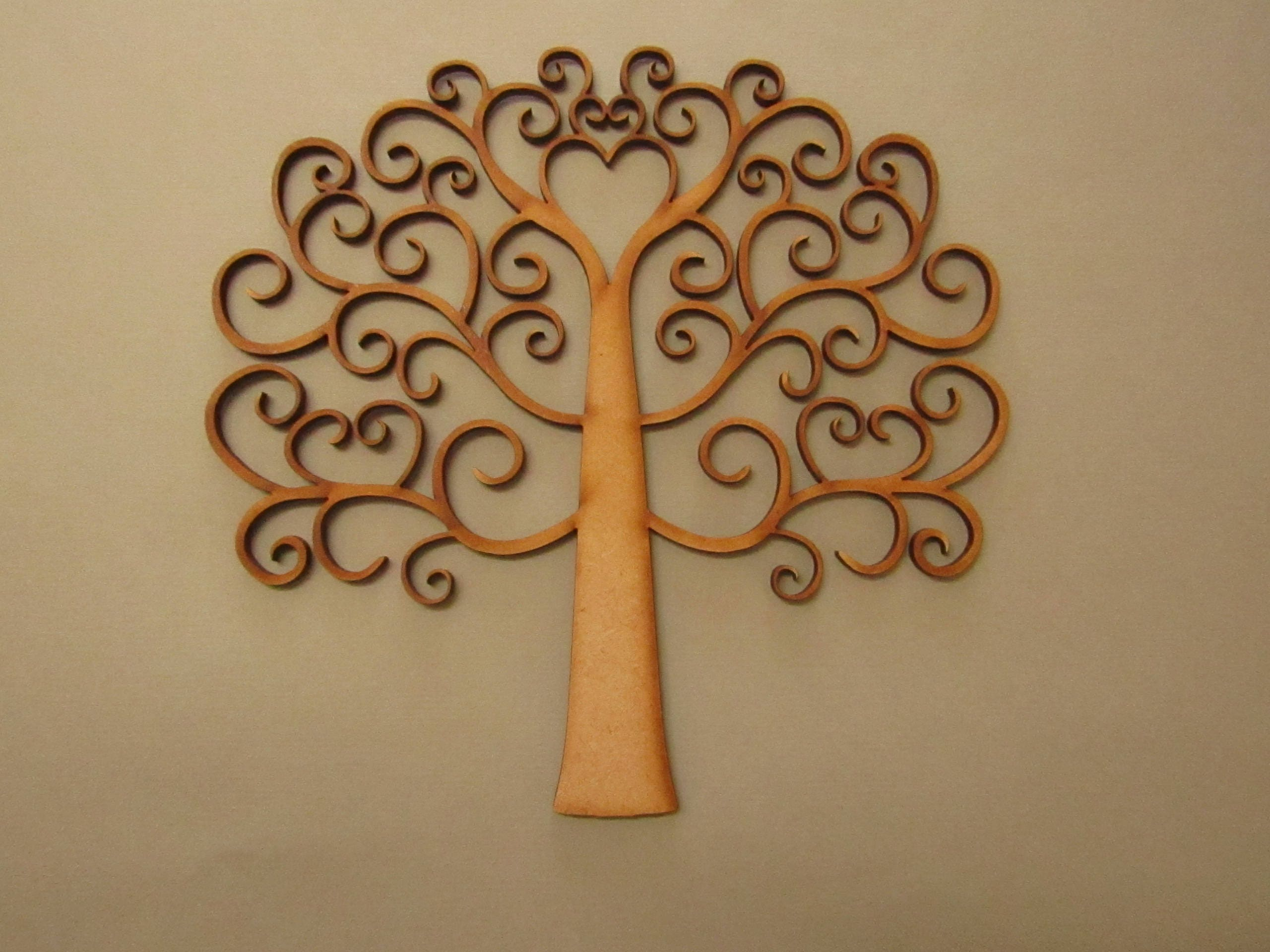 Wirbel-Design aus Holz Stammbaum Speicher-Baum   Etsy