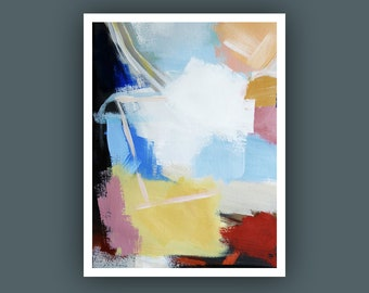 Fine Art Prints, Contemporary art, Abstract Painting,  Modern Art Prints, Giclee Print, Abstract Painting, Free Shipping