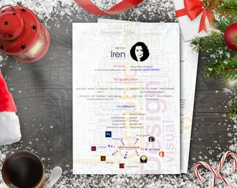 Illustrator Personal Branding Template For Resume Graphic Designer Cv Cv Design Cover Letter Creative Cv Template Instant Download Resume