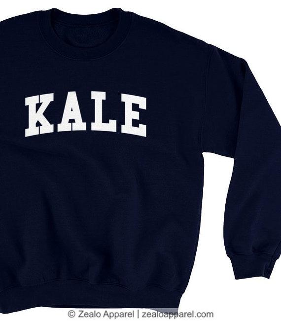 dea9fa2b Grünkohl-Sweatshirt. Yale Universität Stil College Pullover   Etsy
