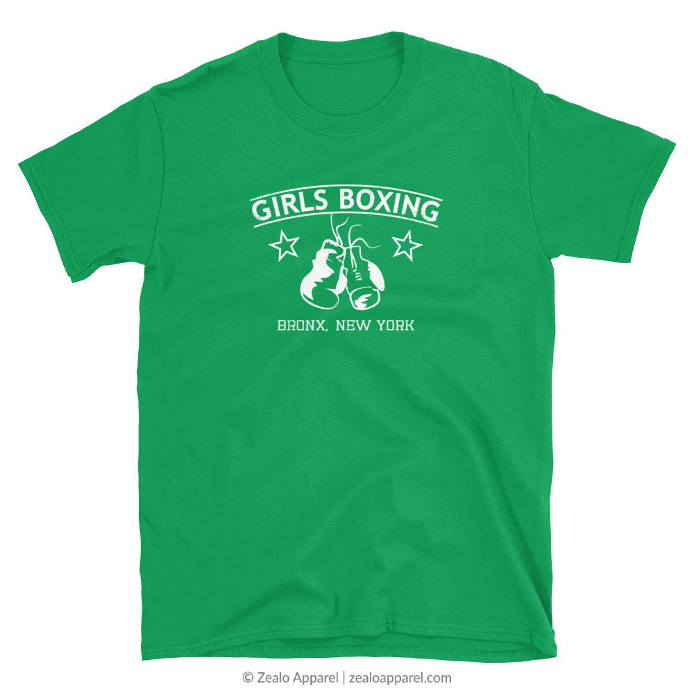 Rachel Green Girls Boxing T-shirt. Friends Tv Show Shirt Series Fan Girl Power Greene Clothing Tow Football Episode Womens Feminist Shirt Unisex Tshirt