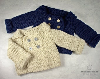 9c5308d34 Baby sweater crochet