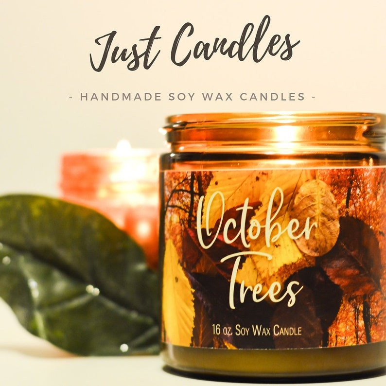 Scented Soy Candles image 0