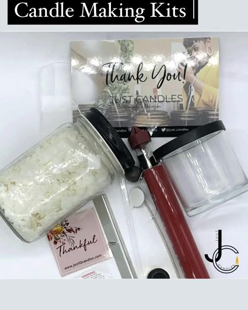 Candle Making Kit  Soy Candle Kit  Make Your Own Candles  image 0