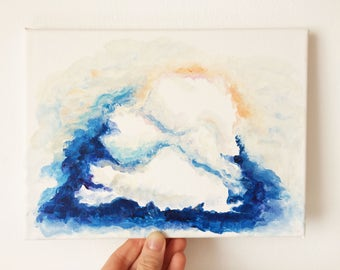 angelic cloud painting