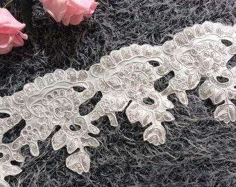 15 yard 1.5cm 0.59 wide light pinkdeep pink embroidery lace trim trims ribbon L22K191 free ship