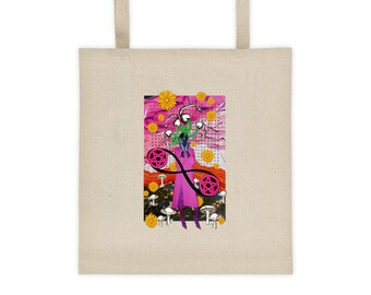 Two of Pentacles- Tote bag