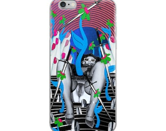Four of Swords- iPhone Case