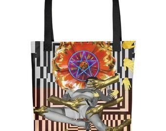 Queen of Pentacles- Tote bag