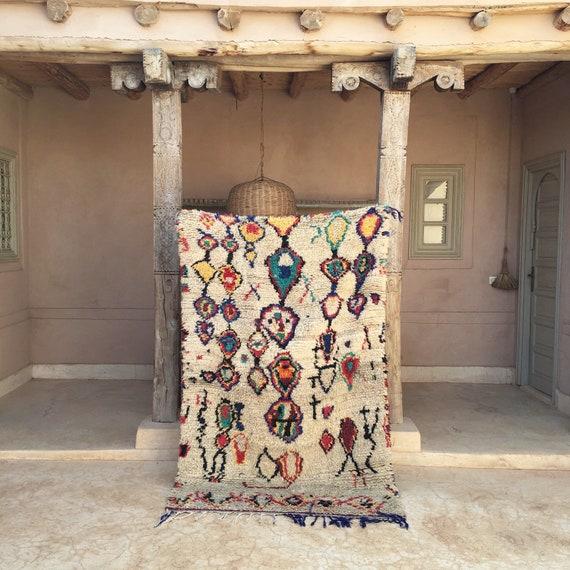 EVIL EYE 4'3 X 6'10 Moroccan Berber