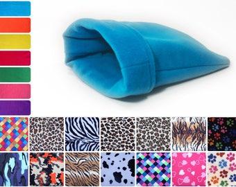 Guinea Pig Accessories, Rat Pouch, Hedgehog Snuggle Bag, Degu Hideaway, Sugar Glider House, Anti Pill Fleece Sack, Hamster Gift