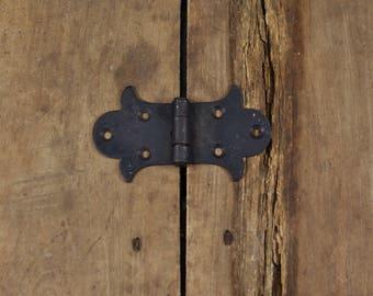 Fancy Cast Iron Decorative Door Hinge