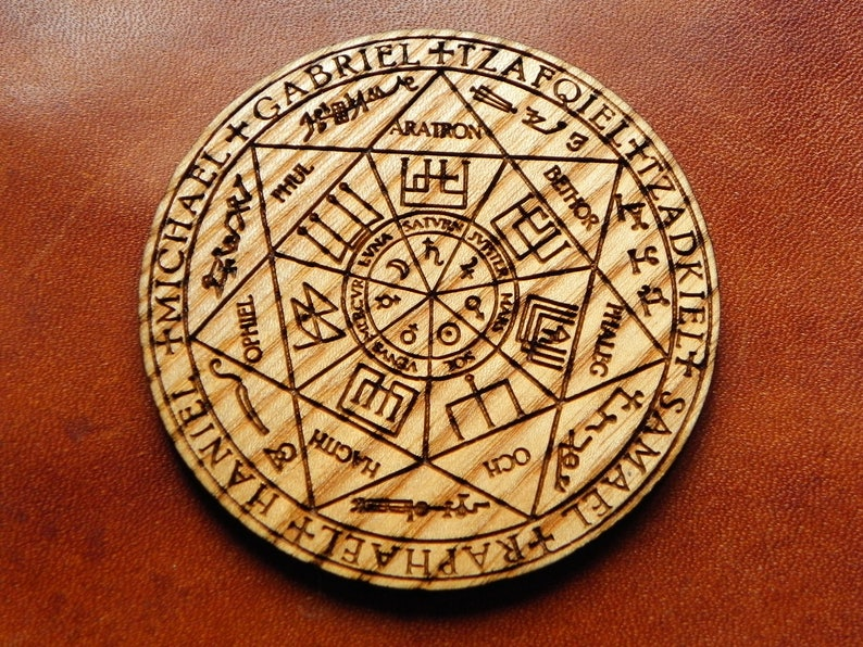 Magnet for home protection The Seals of the Seven Archangels, The Seven  Archangels sigil