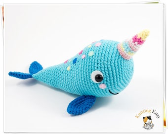 How To Crochet | Amigurumi Narwhal | Easy Beginners Project - YouTube | 270x340