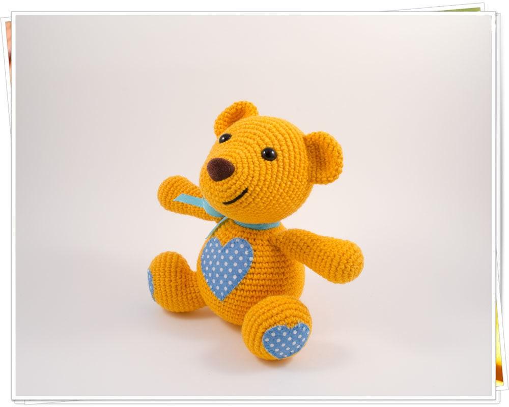 Amigurumi Valentine Teddy Bear Part One - YouTube | 800x1000
