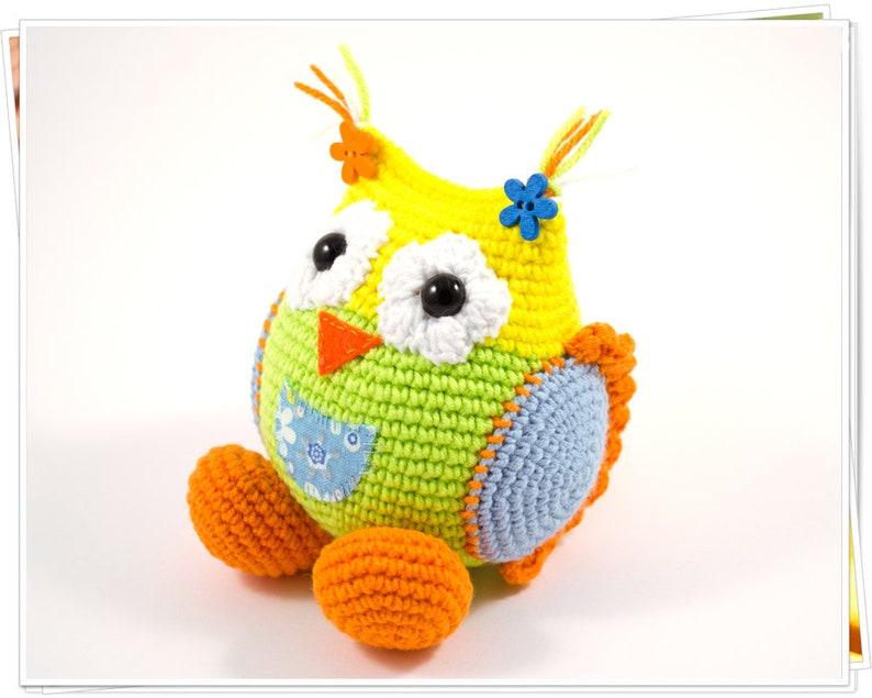 Owl Amigurumi Crochet Tutorial - YouTube | 635x794