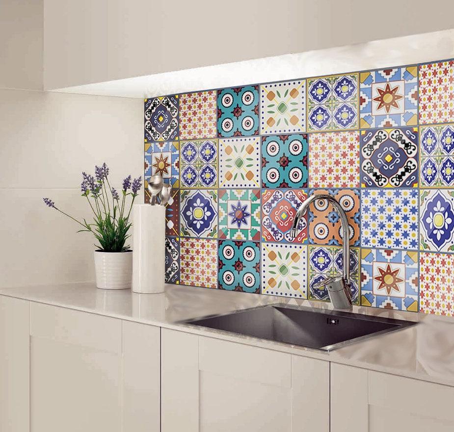 Kitchen Floor Tiles Australia: Kitchen Splashback Splashback Tiles Moroccan Tile Decal