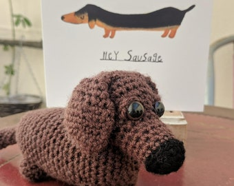 Dachshund Sausage Dog Plush With Gift Card Gifts Lovers 21st Birthday Cute For Her Personalized Best Friend