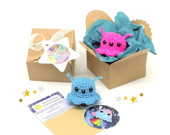 depression mindfulness gift care package mental health self care cute kawaii squishy alien keyring best friend support gift friendship