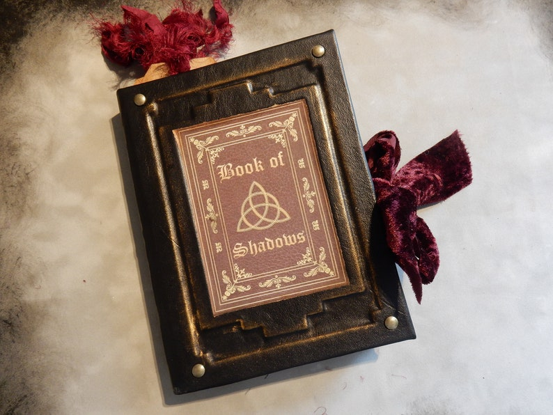 Handmade Book of Shadows, Handmade Book, Wicca, Witch Craft, Handmade Witch  Book, Book of Shadows, Junk Journal, Rustic Book, Dark Arts,