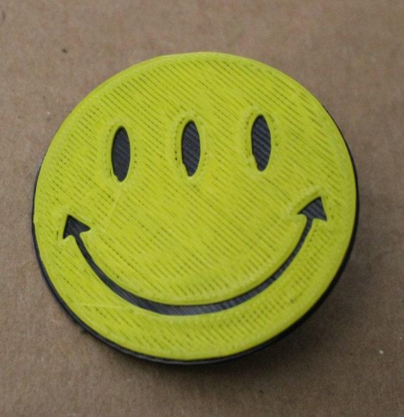 """6 Transmetropolitan Smiley Face 1 1//4/""""  Buttons or Magnets Spider Jersusalem"""