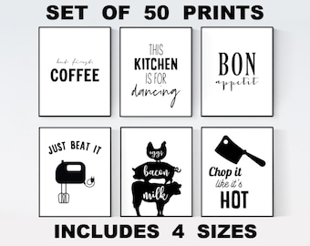 photograph about Kitchen Printable identified as Kitchen area printables Etsy