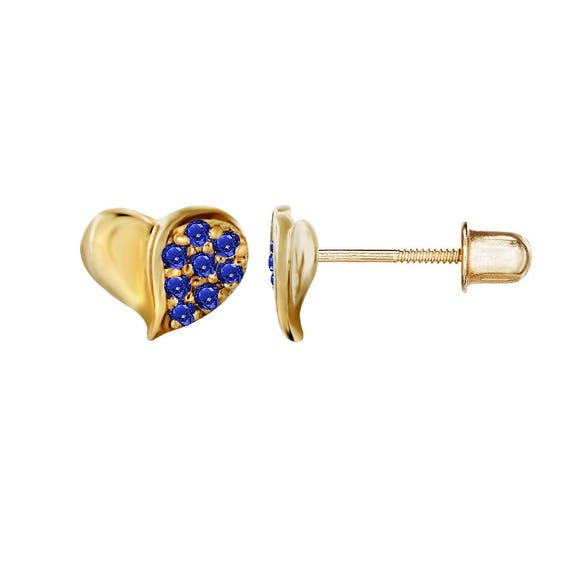 26mm x 15mm Mia Diamonds 14k Yellow Gold Enameled Mistletoe with Synthetic Stone Charm