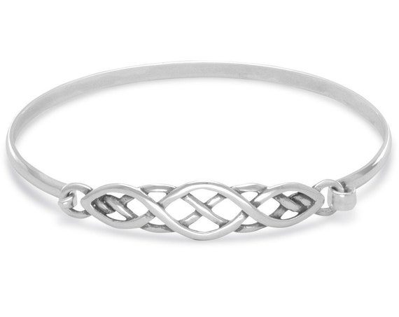 Woven Celtic Design Bangle