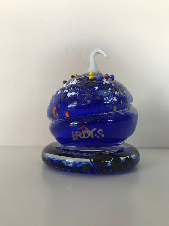 Art Glass Sculpture, Signed By World Class Listed Artist, Ardy Struwer -  Artist (Painting & Glass) Actor/Writer/Art Director - Dated 2004