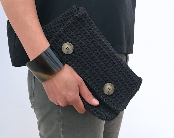 Featured listing image: Two Button Clutch