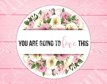 Stickers | You Are Going To Love This | Floral