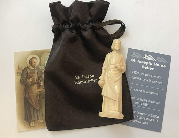 Saint Joseph Complete Home Selling Kit With Instructions Holy Etsy