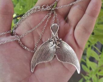 Silver Spoon Pendant, Spoon Jewelry, Mermaid Tail Spoon, Mermaid Pendant, Sea Witch, water witch, Spoon Necklace, Mermaid Jewelry
