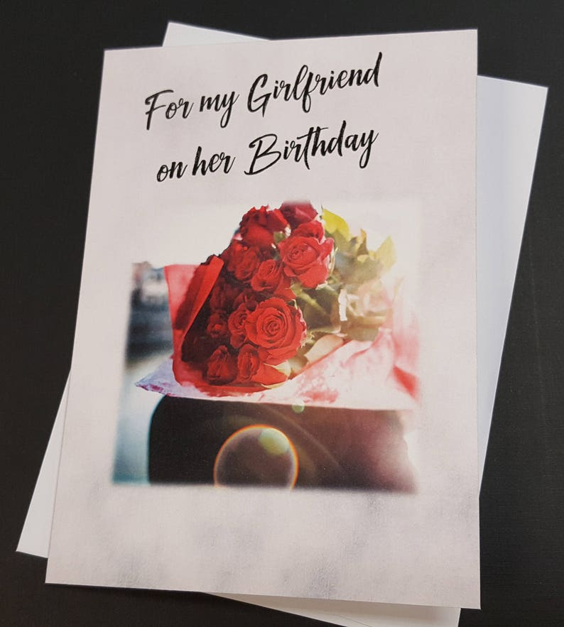 Lesbian Girlfriend Birthday Card Greeting