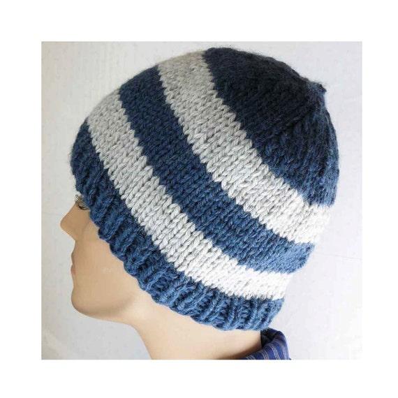 Knitting Pattern Knit Beanie Pattern Mens Knit Hats Etsy
