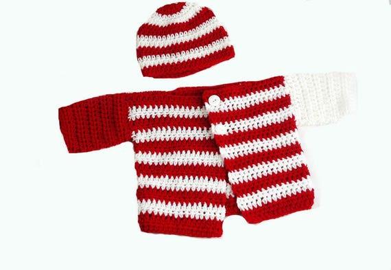 Baby Crochet Pattern Crochet Baby Set Pattern Baby Cardigan Etsy