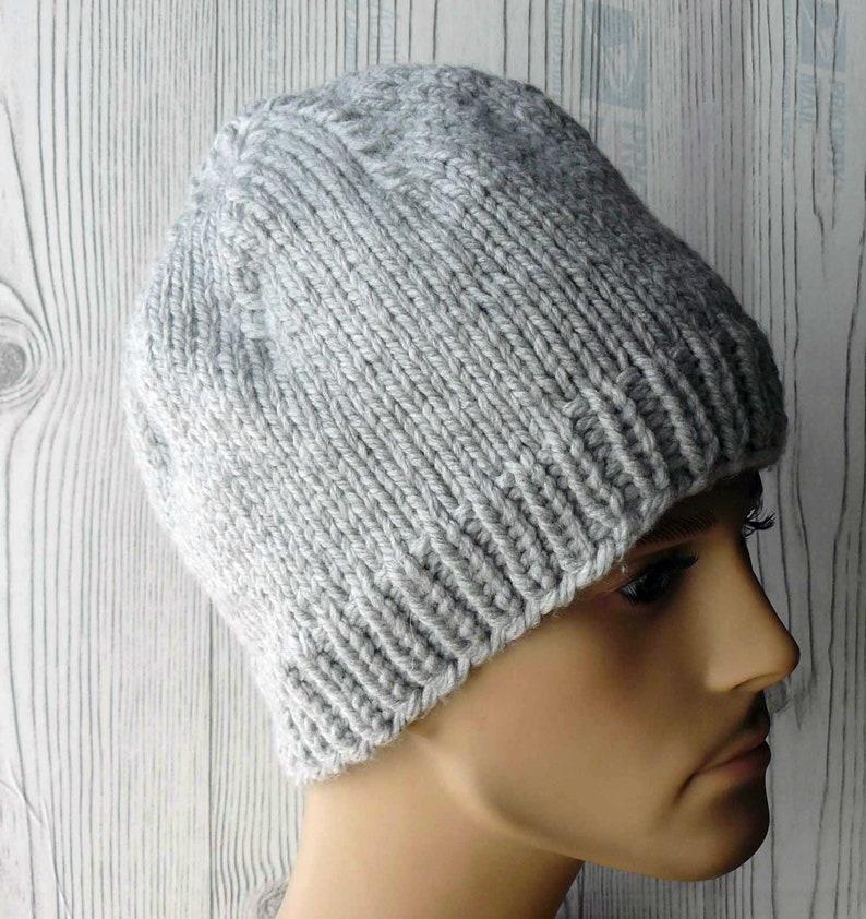 f101b8910f9 Knitting PATTERN Knit Beanie Pattern Stylish Knit Hats
