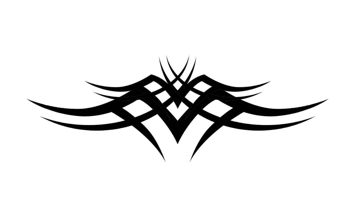 drawing tribal wings profile stencil art tattoo tatoo 5 etsy