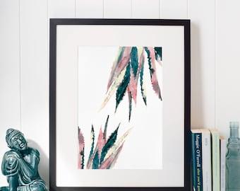 Limited edition print - Double Aloe vera
