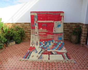 azilal authentic moroccan berber rug