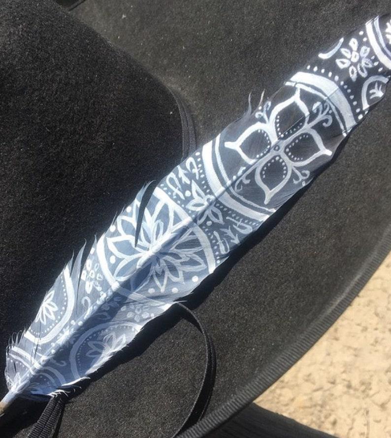 Lace Boho feather
