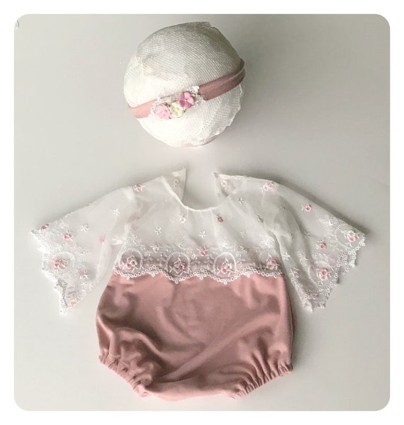 Evelyn Newborn Romper