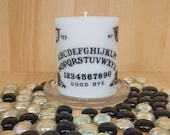 Scented quot Beyond the Grave quot pillar candle Ouija Candle Spirit Communication Gothic Gifts Halloween Ideas