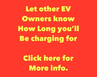 EV Etiquette Kit - Electric Car Charging Notice - Blocked Charger WindShield Notes - EVcharging