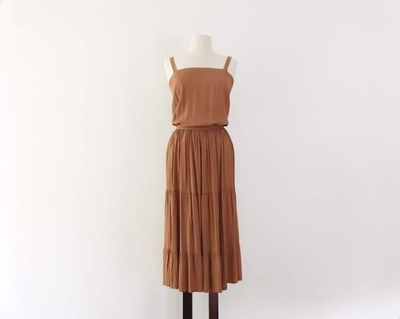 Lulu Rayon Tank & Skirt Set - XS - Vintage 40s Bro
