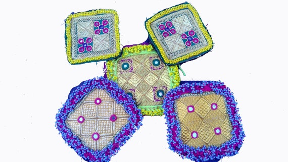Zari Beaded patch,Patch for costume design,Jacket