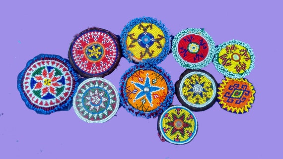 10 pcs big Medallions Beaded patch,Patch for costu