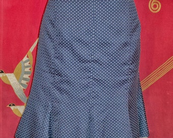 Vintage silk polka dot skirt ( Odd Molly )