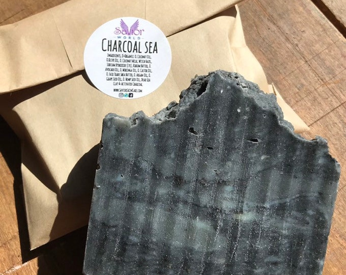Charcoal Sea Vegan Soap